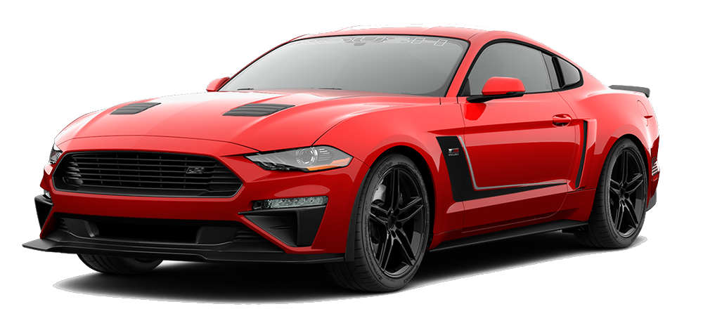 Red Jackhammer Mustang available at AutoNation Ford Katy