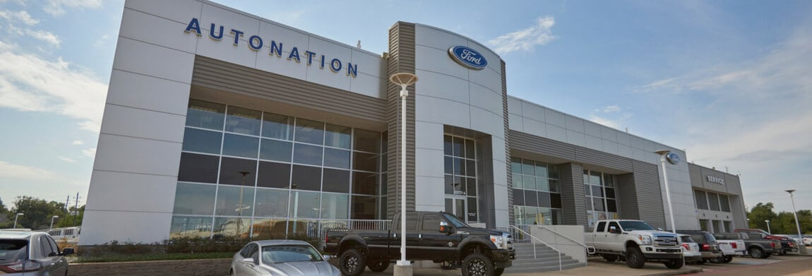 Exterior view of AutoNation Ford Katy