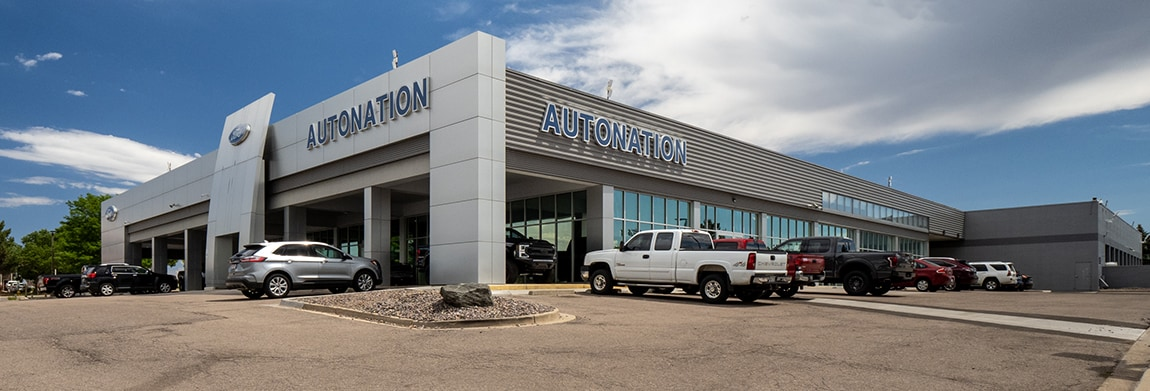 Exterior view of AutoNation Ford Littleton