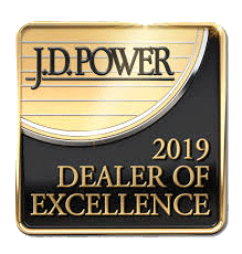 2019 JD Power Dealer of Excellence Award