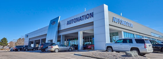 Ford Dealership Selling New And Used Cars Near Denver Co Autonation Ford Littleton