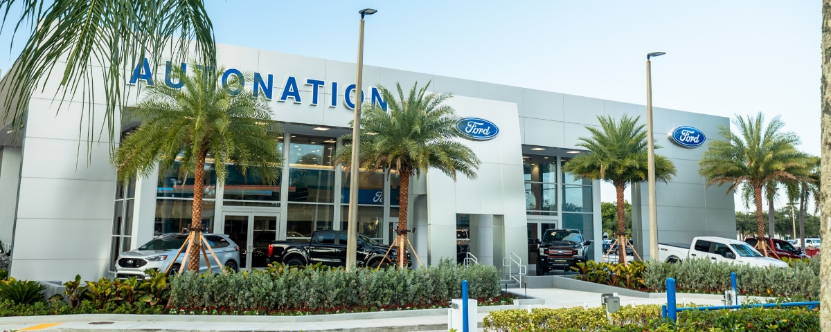 AutoNation Ford Margate exterior  view