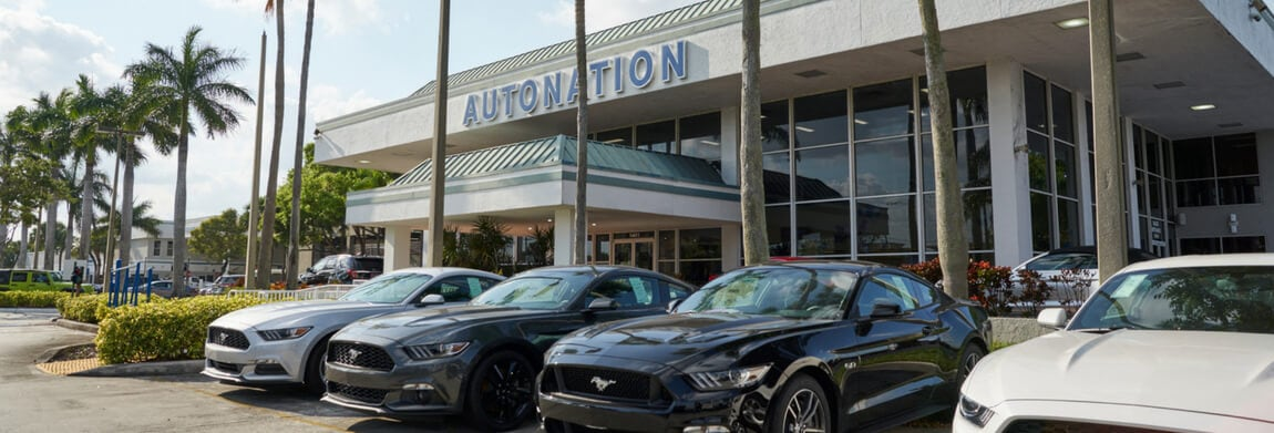Exterior view of AutoNation Ford Margate