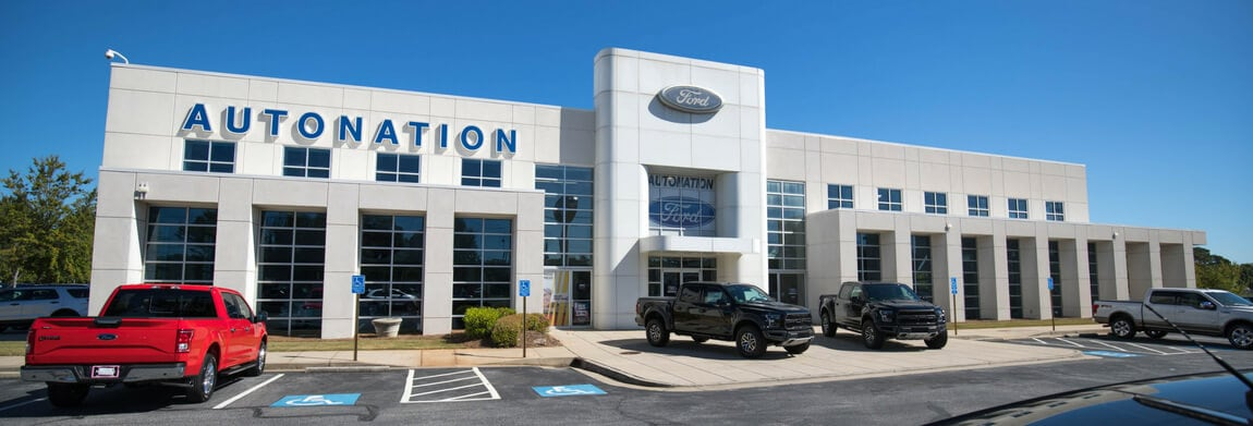 Exterior view of AutoNation Ford Marietta