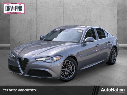 2018 Alfa Romeo Giulia Sedan