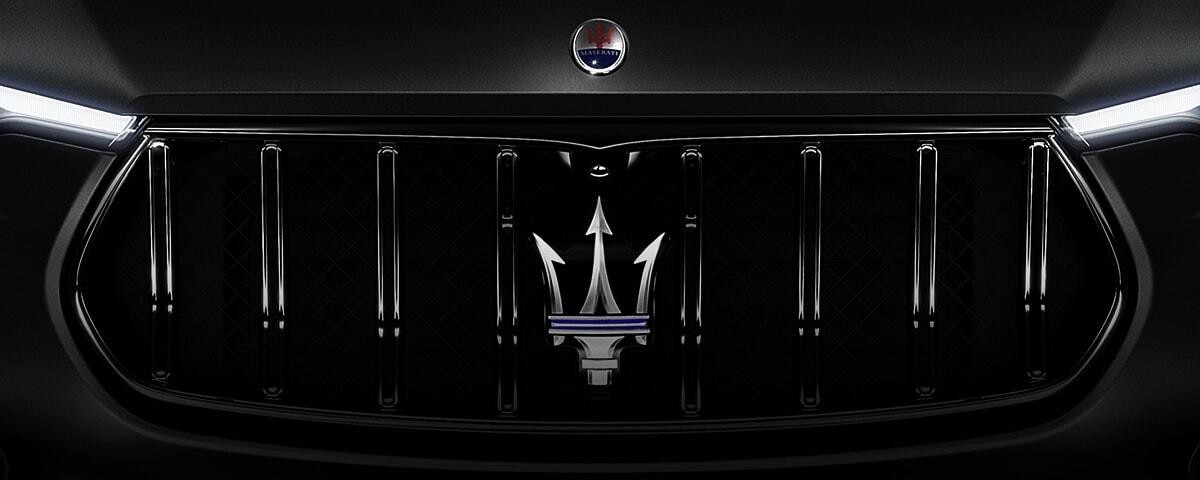 Maserati Levante front end