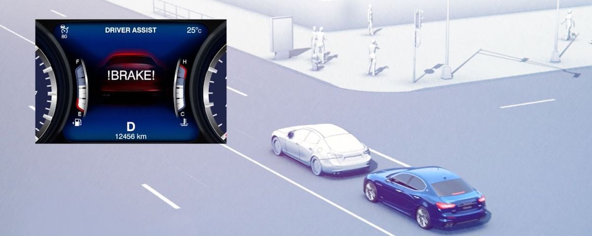 Maserati Forward Collision Warning Plus