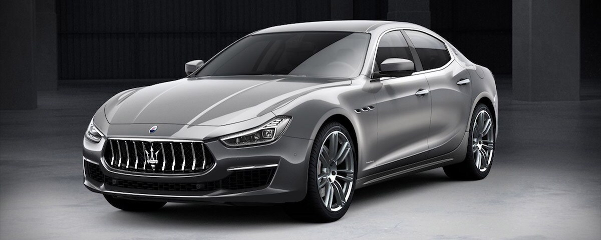 Maserati Ghibli GrandLusso front end