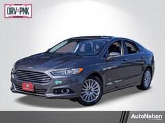 2013 Ford Fusion Energi Titanium Sedan