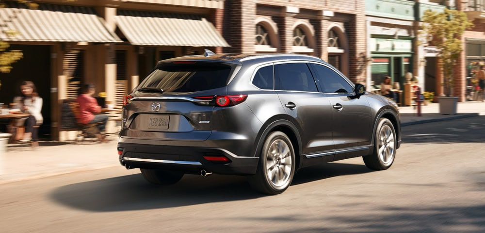 2018 Mazda CX-9 rear 3/4 view