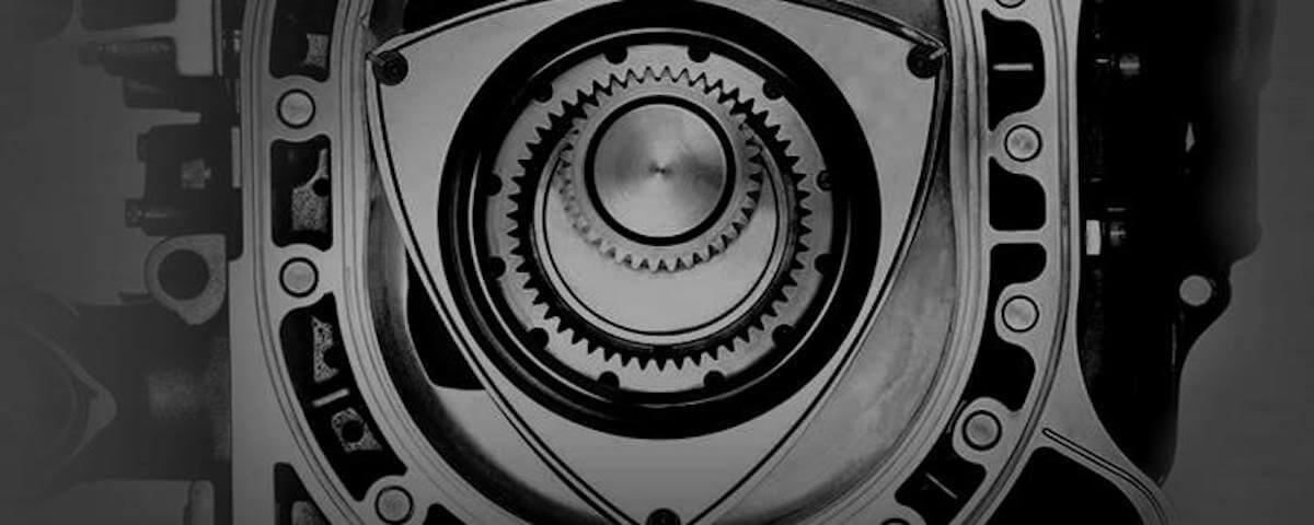 Mazda rotary engine cross section