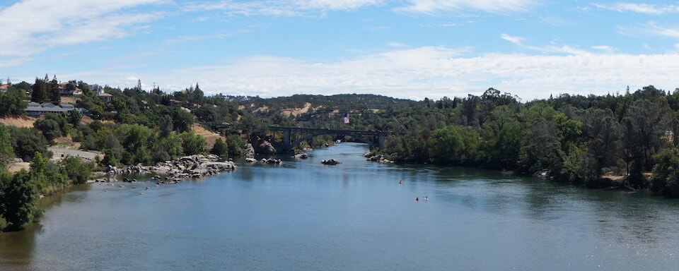 View of Lake Folsom