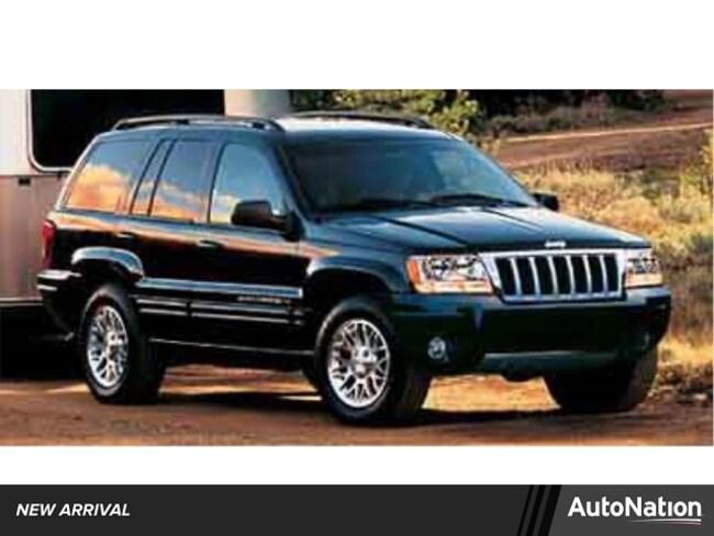 2004 Jeep Grand Cherokee Limited SUV I-6 cyl
