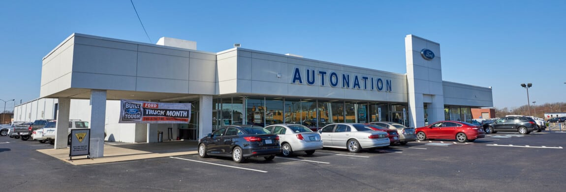 Exterior view of AutoNation Ford Memphis