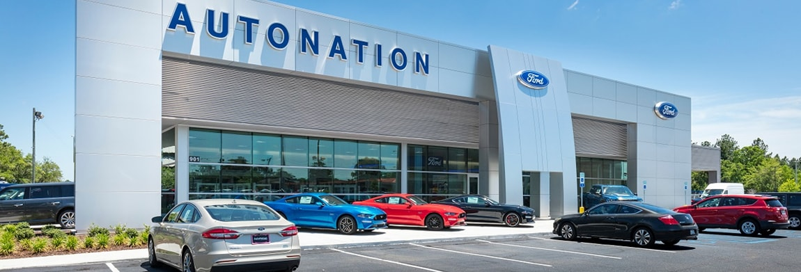 Exterior view of AutoNation Ford Mobile