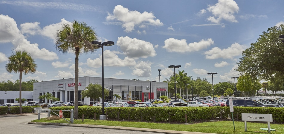 Exterior View Of Nissan Brandon Serving Bradenton