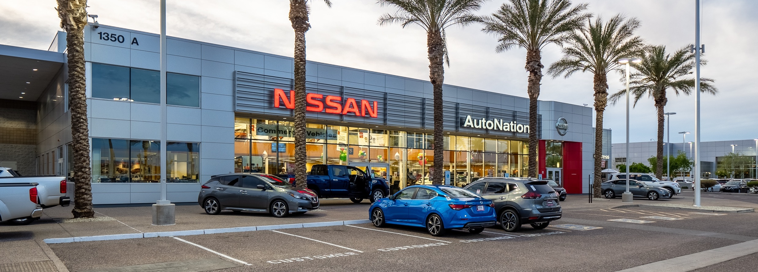 Exterior view of AutoNation Nissan Chandler