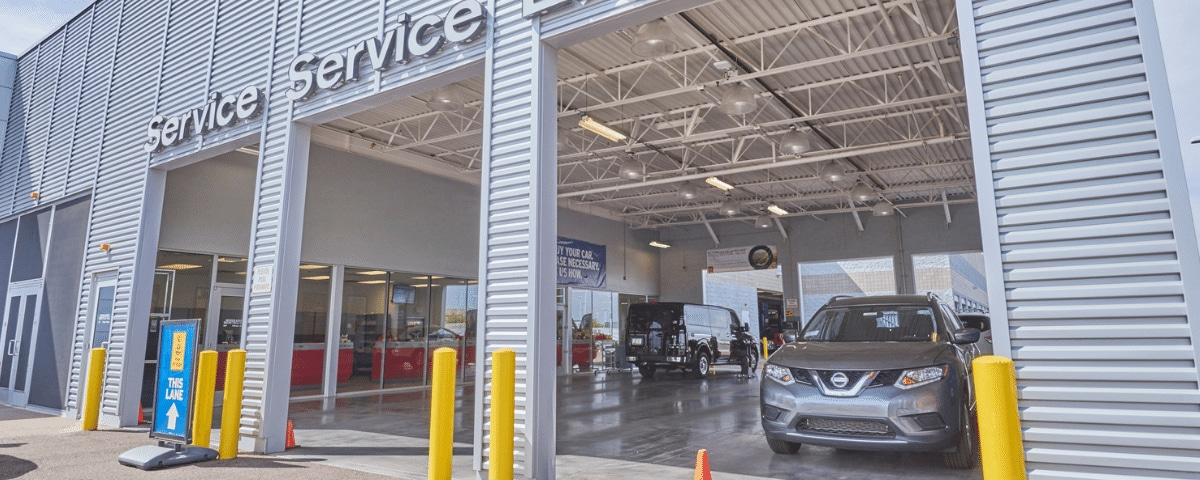 AutoNation Nissan Chandler service center