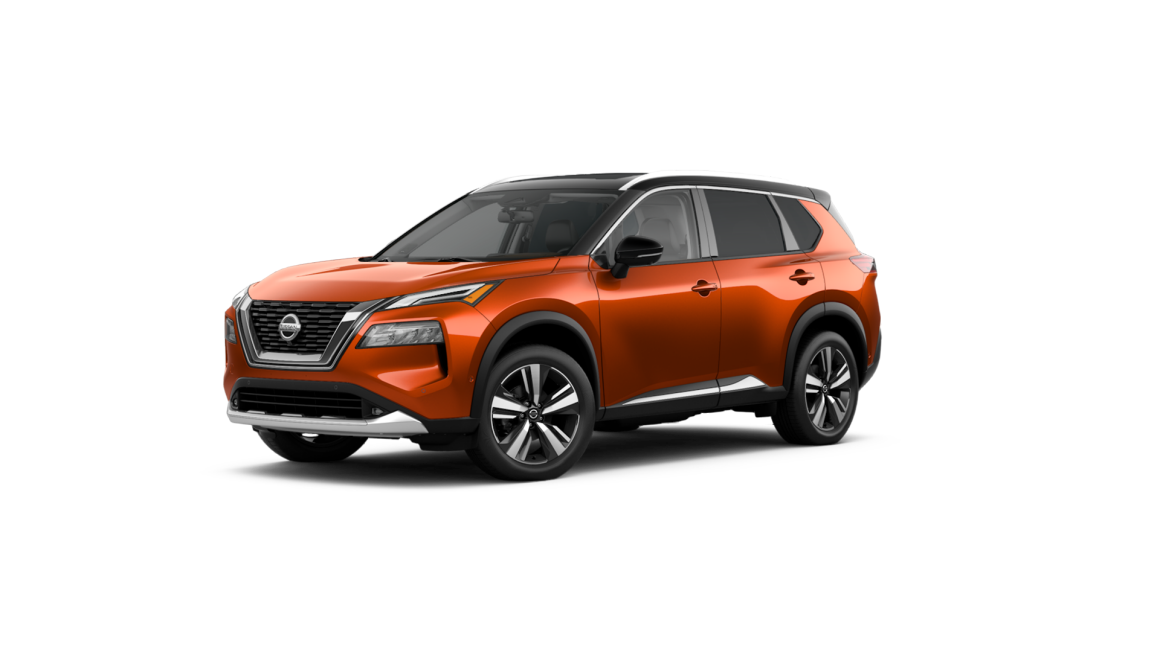 Nissan Rogue Two-Tone Sunset Drift ChromaFlair and Super Black