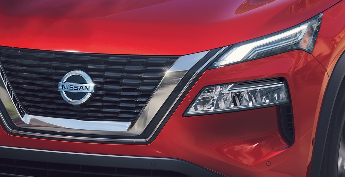 2021 Nissan Rogue LED headlights