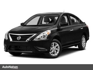 2016 Nissan Versa S Plus Sedan