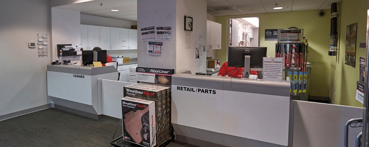 AutoNation Nissan Las Vegas Parts Department