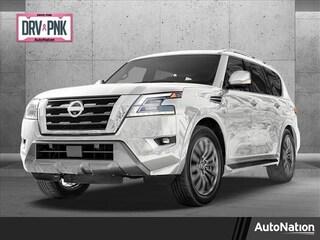 Used 2021 Nissan Armada Platinum SUV for sale in Marietta