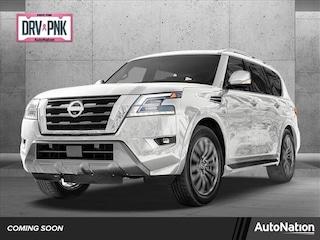 New 2021 Nissan Armada Platinum SUV for sale