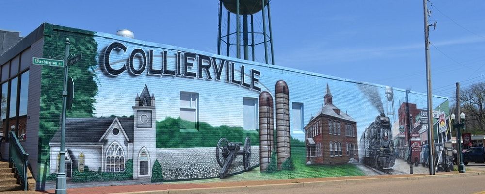 Scenic view of Collierville, TN
