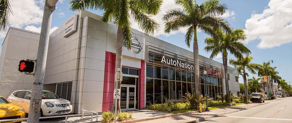 AutoNation Nissan Miami   Nissan Dealership Near Miami