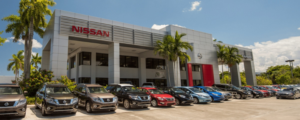 Exterior view of AutoNation Nissan Pembroke Pines