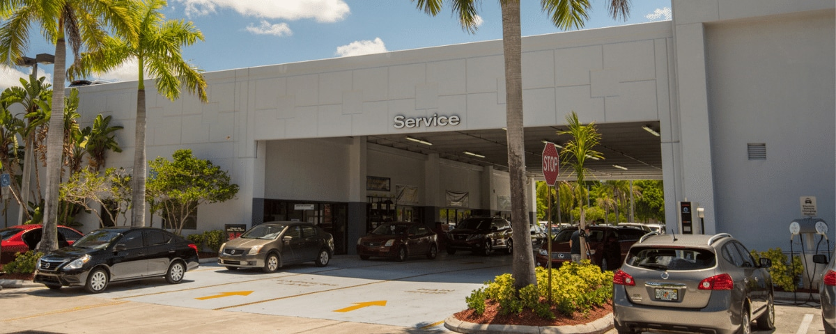 AutoNation Nissan Pembroke Pines Service Center exterior