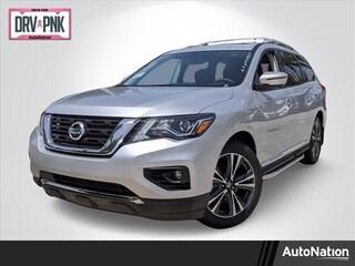 New 2020 Nissan Pathfinder Platinum SUV for sale