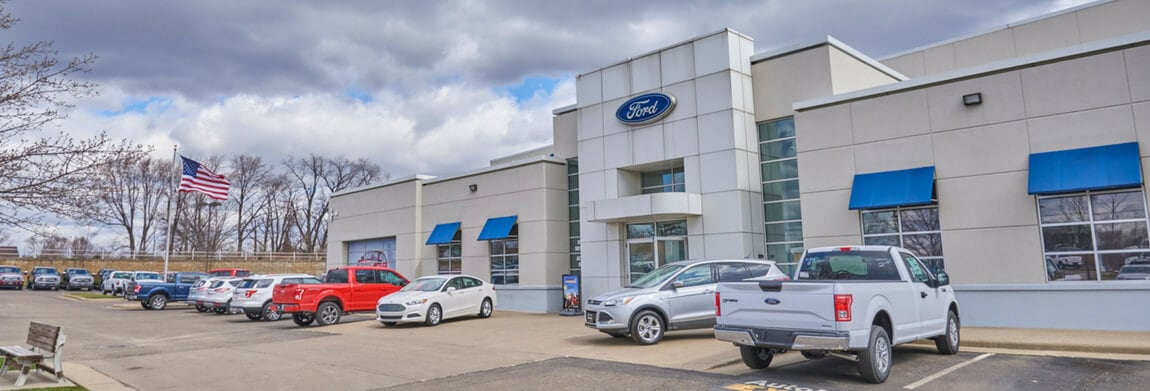 Exterior view of AutoNation Ford North Canton