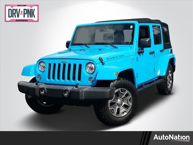 2017 Jeep Wrangler JK Unlimited Rubicon SUV