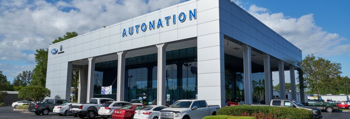 Exterior view of AutoNation Ford Orange Park