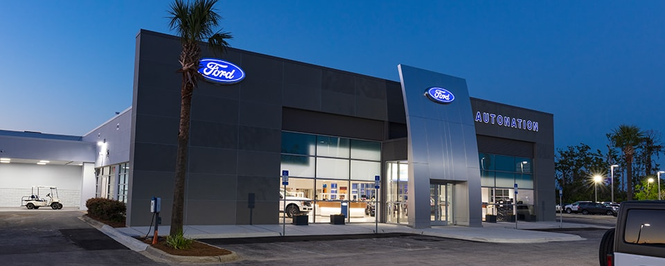 AutoNation Ford Panama City Dealership Exterior