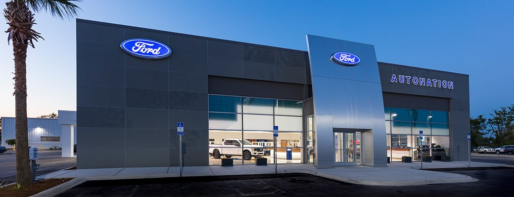 Outside view of AutoNation Ford Panama City