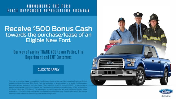 Ford First Responder >> Ford First Responder Appreciation Program Autonation Ford