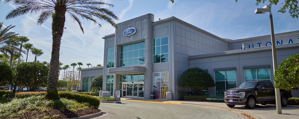 Outside view of AutoNation Ford Sanford