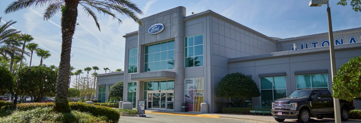 Exterior view of AutoNation Ford Sanford