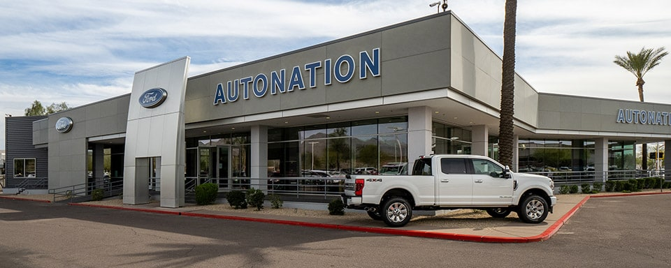 Outside view of AutoNation Ford Scottsdale