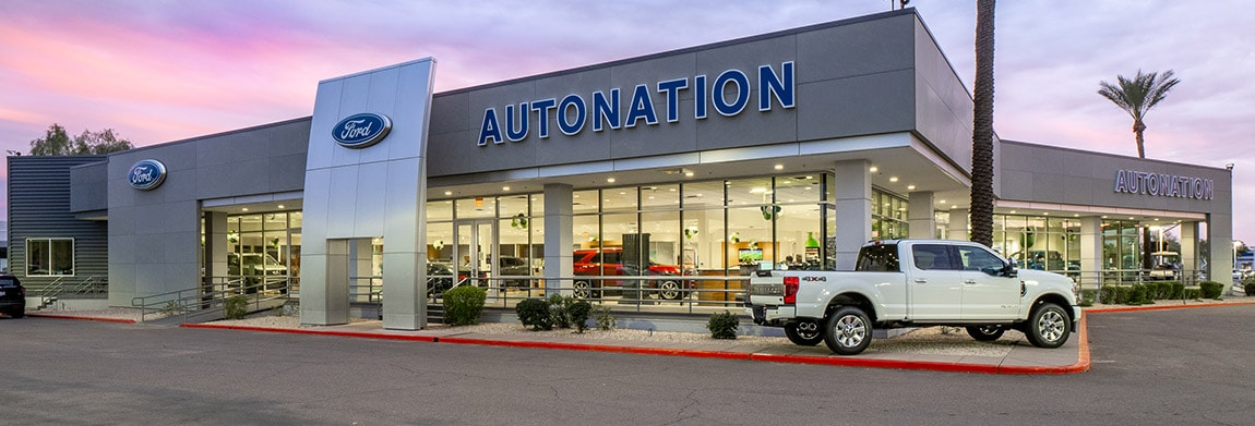 Exterior view of AutoNation Ford Scottsdale