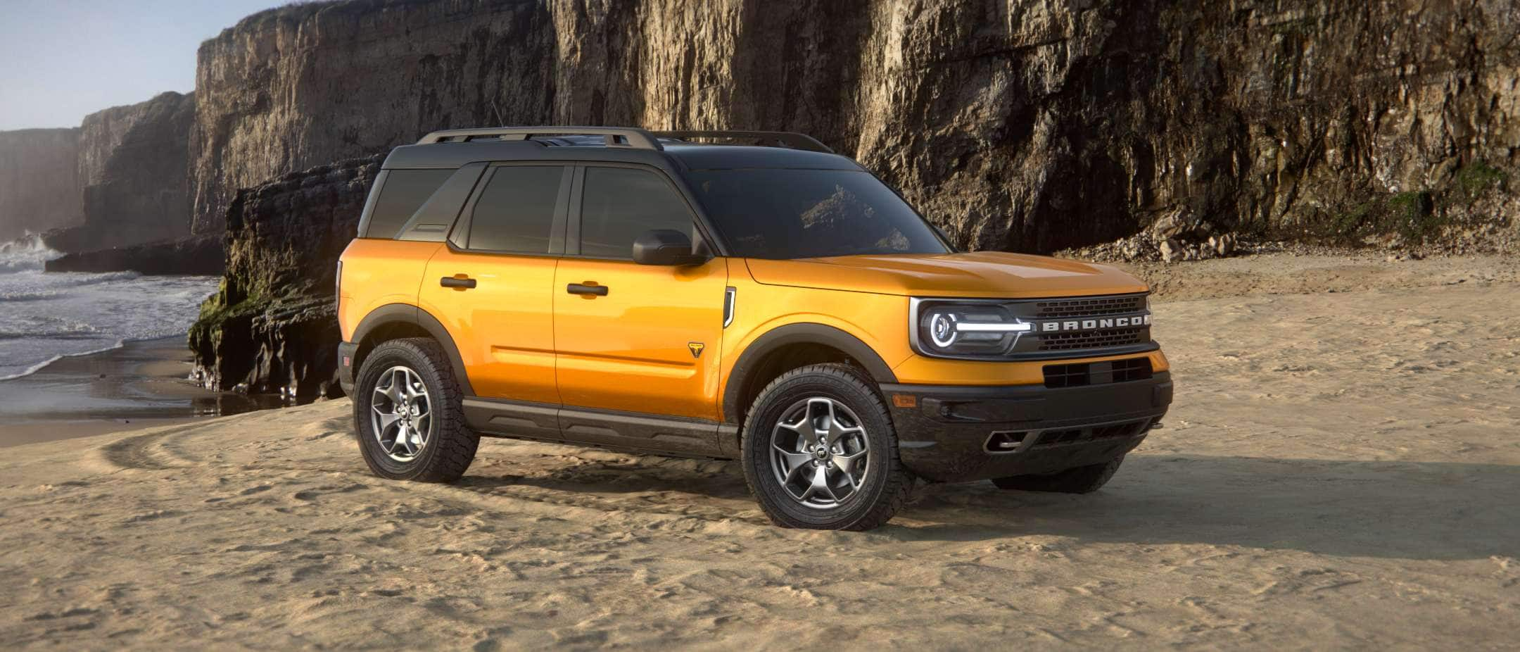 2021 Ford Bronco Sport exterior colors
