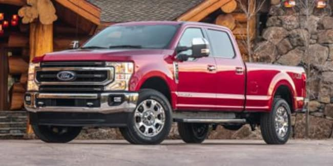 2020 Ford Super Duty F-250 SRW Limited Crew Cab Pickup