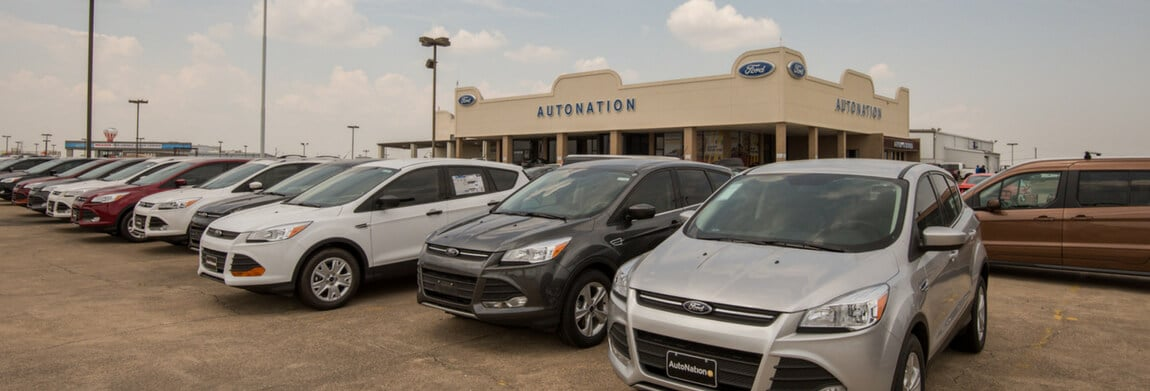 Exterior view of AutoNation Ford South Fort Worth