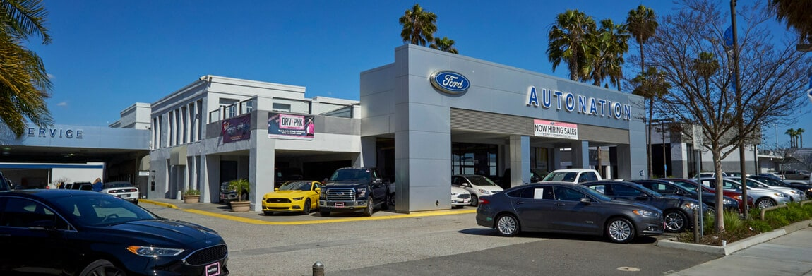 Exterior view of AutoNation Ford Torrance