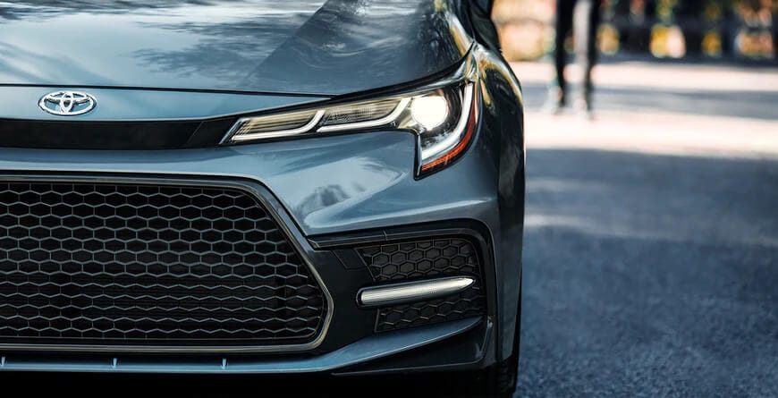 2021 Toyota Corolla LED Headlights and DRL