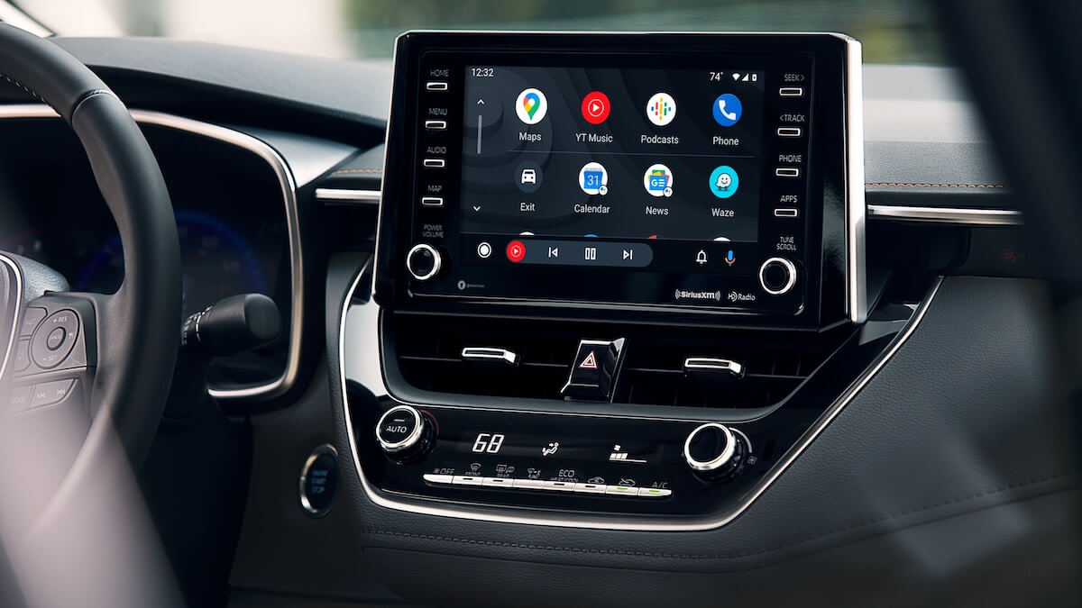 2021 Toyota Corolla Android Auto integration