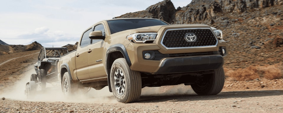 2019 Toyota Tacoma in Quicksand exterior color
